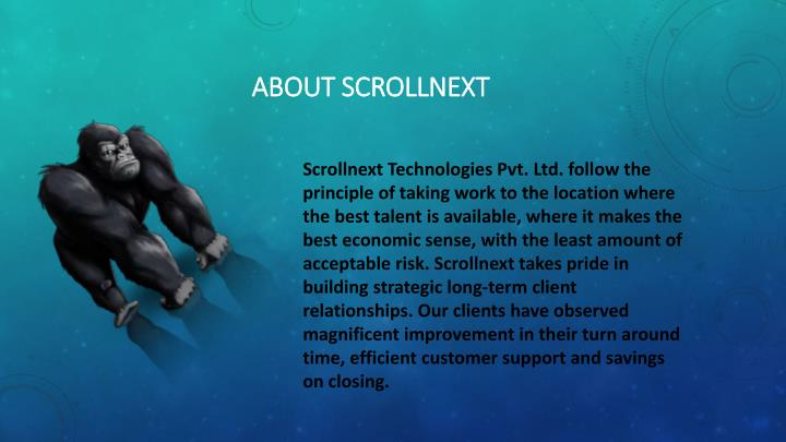 About SCROLLNEXT