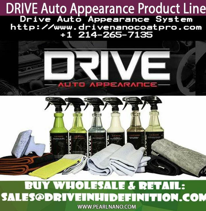 New improved waterless car wash by drive auto appearance
