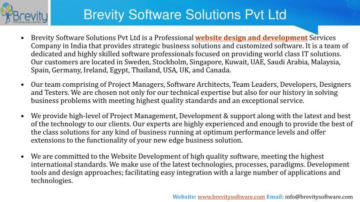 Brevity software solutions pvt ltd1