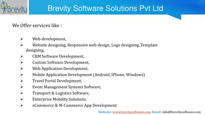 Brevity software solutions pvt ltd2