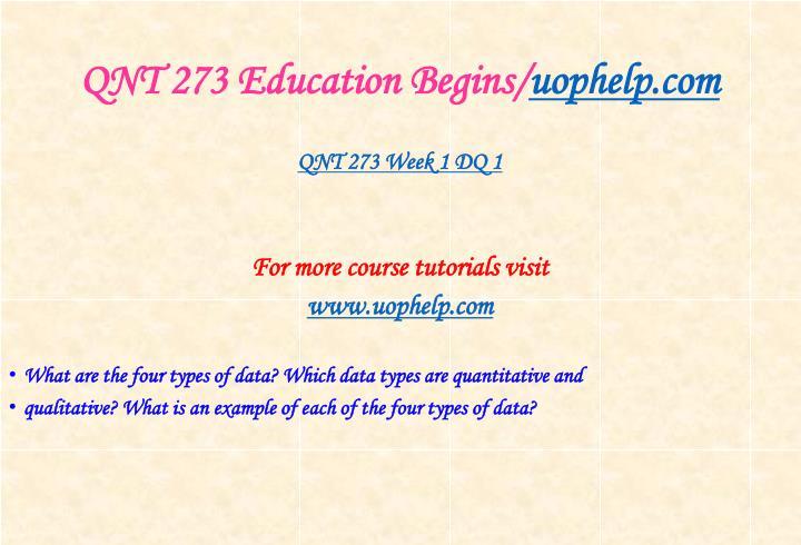 Qnt 273 education begins uophelp com2