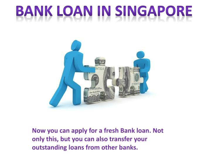 Bank Loan in Singapore