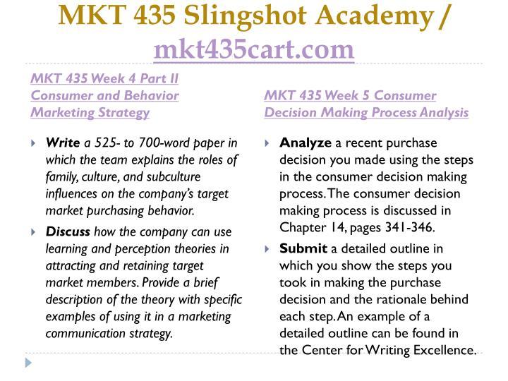 MKT 435