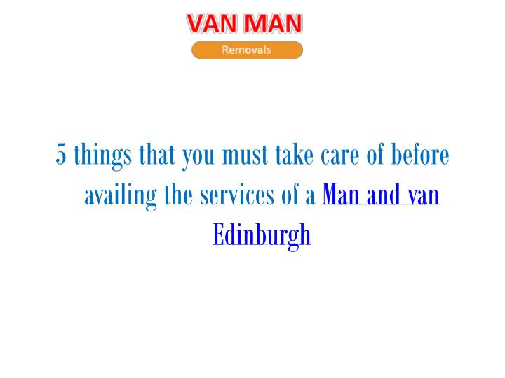 5 things that you must take care of before availing the services of a