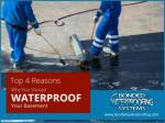top 4 reasons why you should waterproof your basement