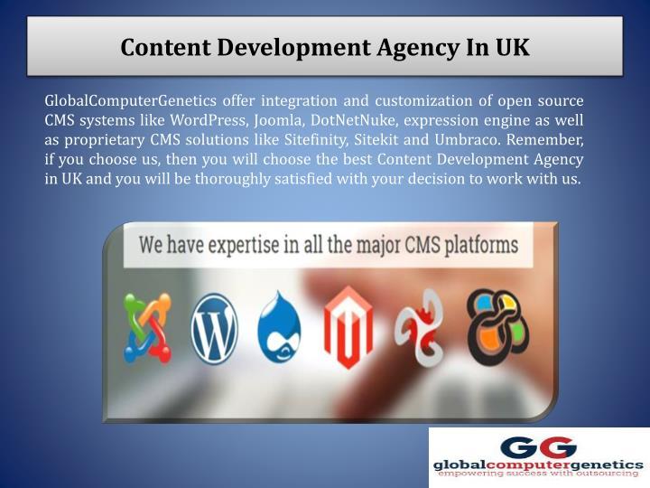 Content Development Agency In UK