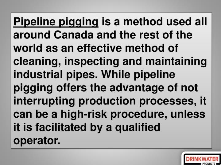 Pipeline pigging