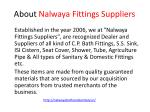 about nalwaya fittings suppliers