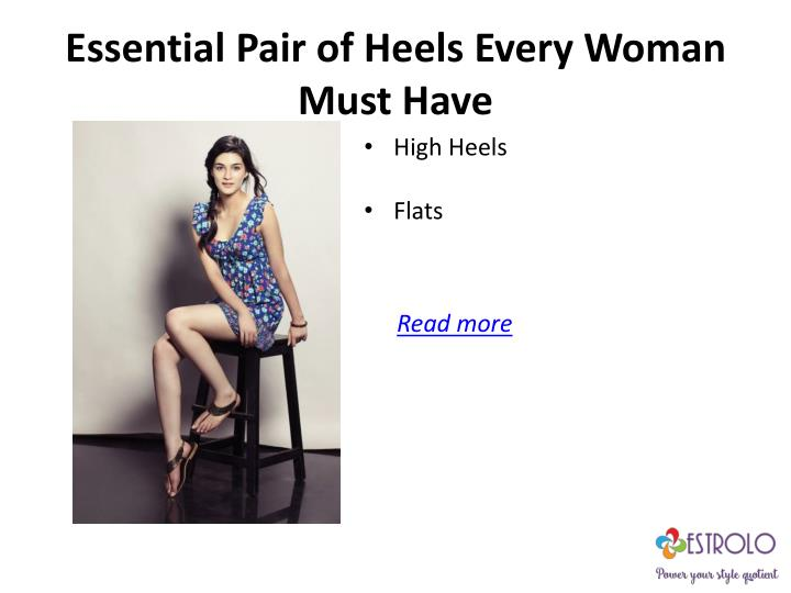 Essential Pair of Heels Every Woman Must Have