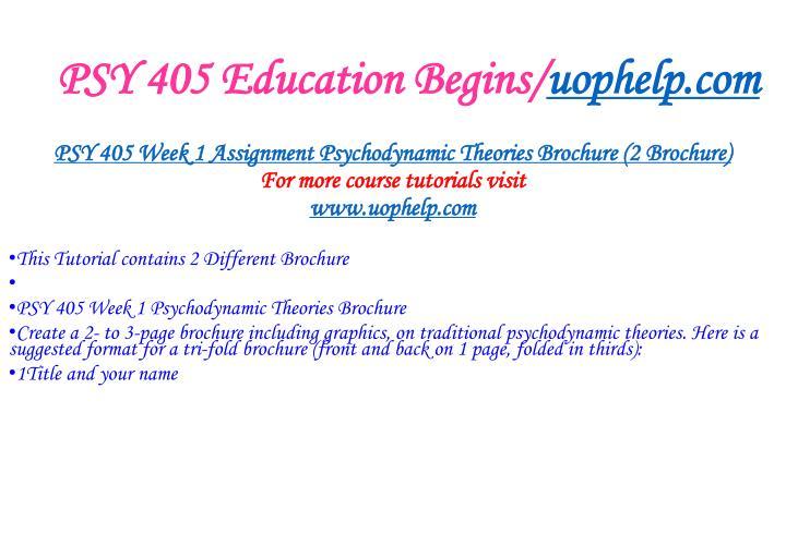 Psy 405 education begins uophelp com2