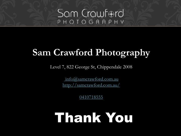 Sam Crawford Photography