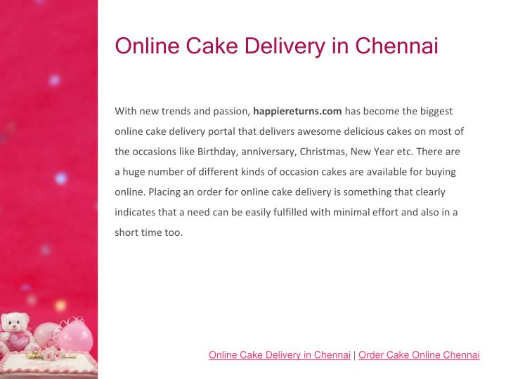 Online cake delivery in chennai1