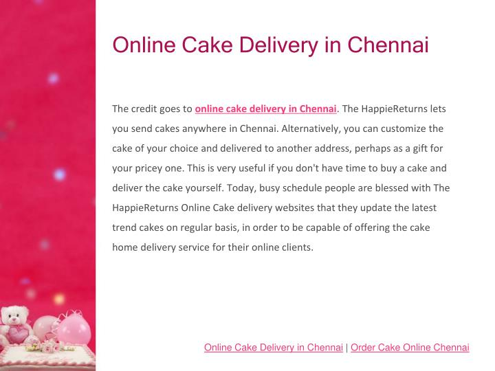 Online cake delivery in chennai2