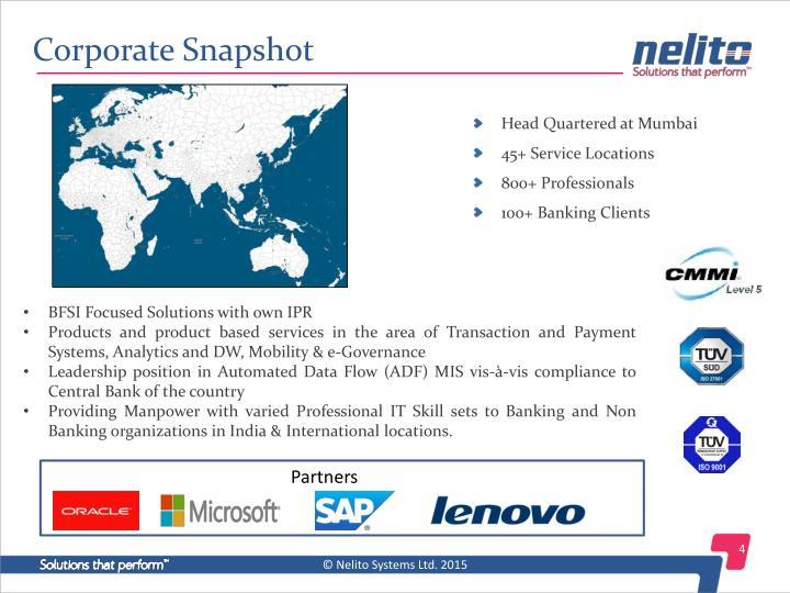 Corporate Snapshot