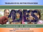 trabajos en el sector financiero1