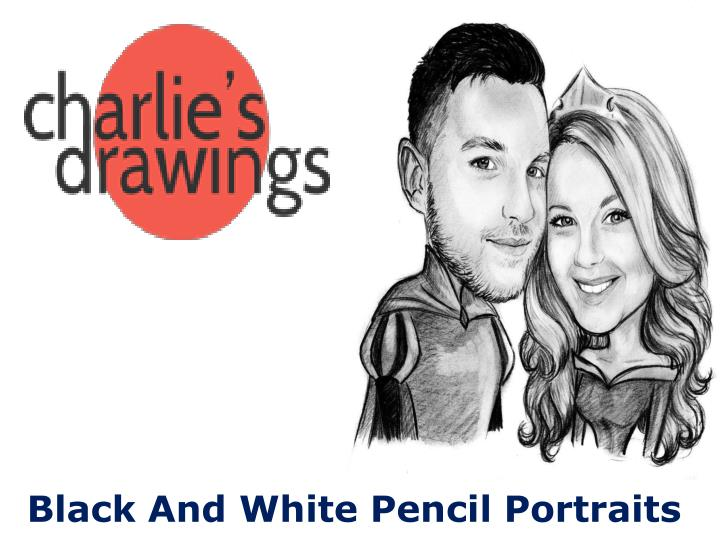 Black And White Pencil Portraits
