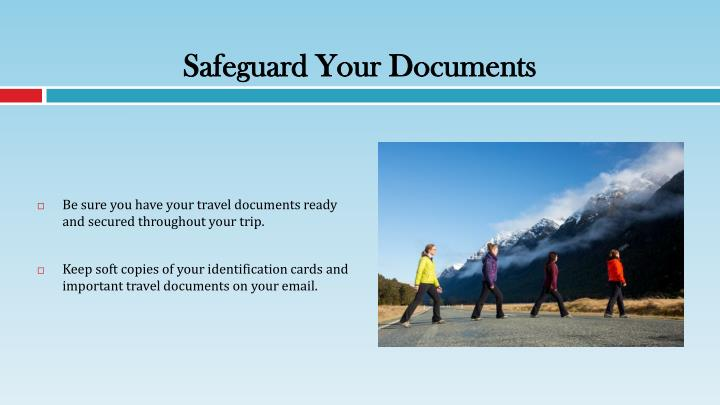 Safeguard Your Documents