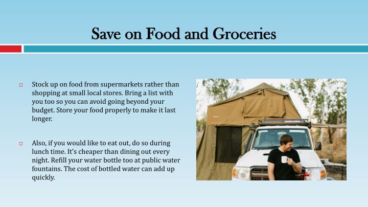 Save on Food and Groceries