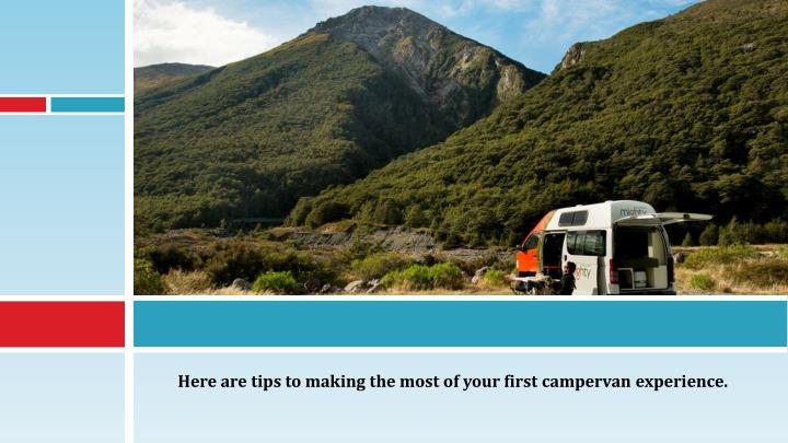 Here are tips to making the most of your first campervan experience.