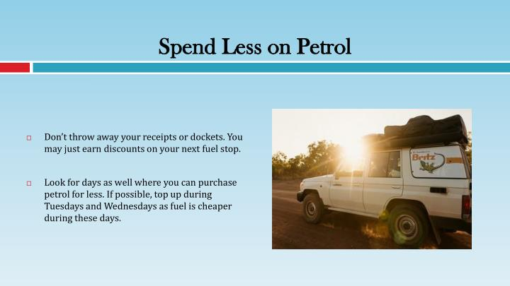Spend Less on Petrol