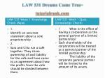 law 531 dreams come true tutorialrank com5