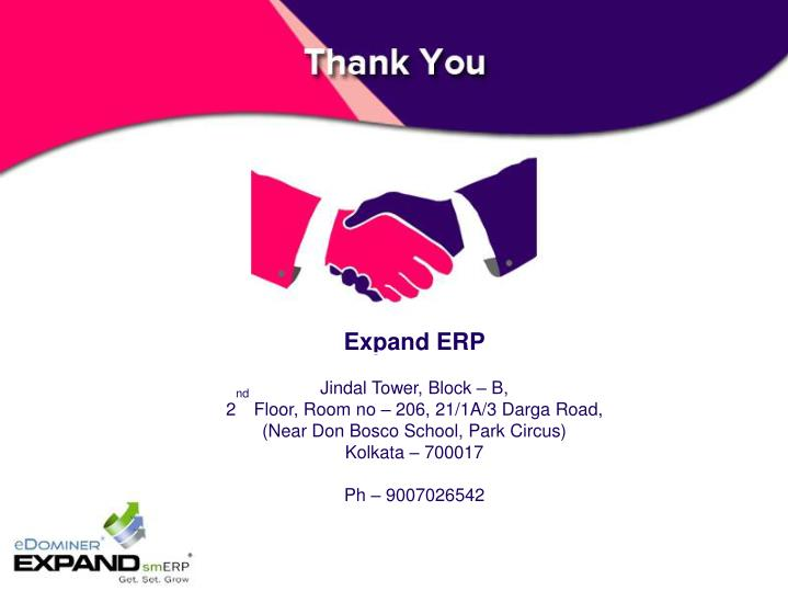 Expand ERP