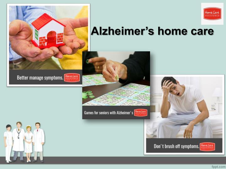 Alzheimer s home care