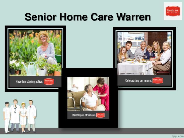 Senior Home Care Warren