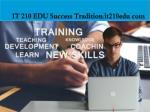 it 210 edu success tradition it210edu com1