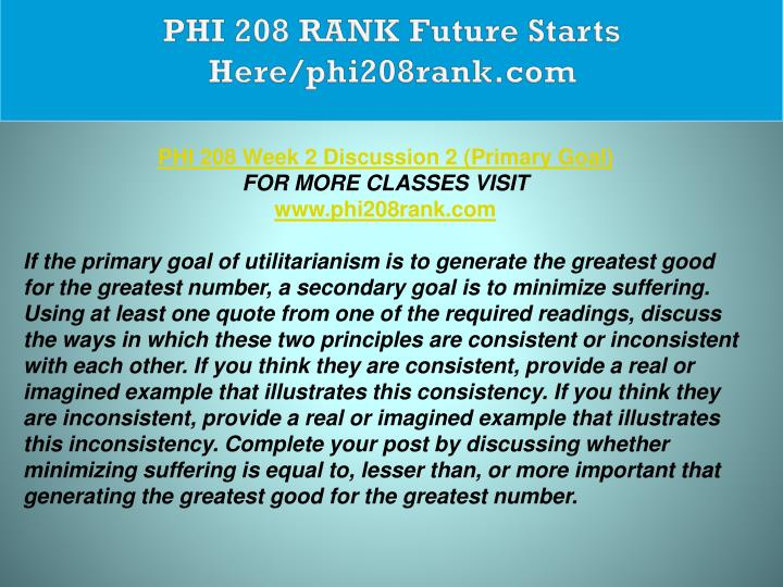 phi 208 what is philosophy