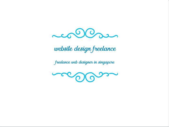 website design freelance