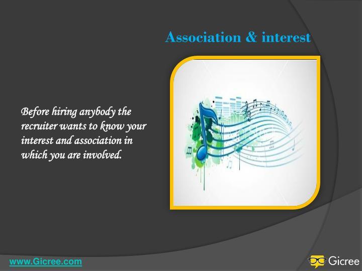 Association &