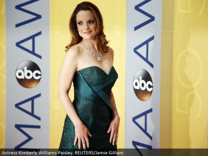 Actress Kimberly Williams-Paisley. REUTERS/Jamie Gilliam