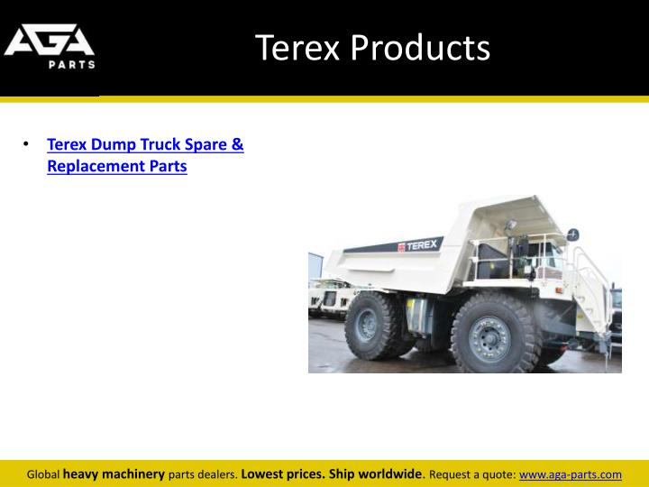Terex products