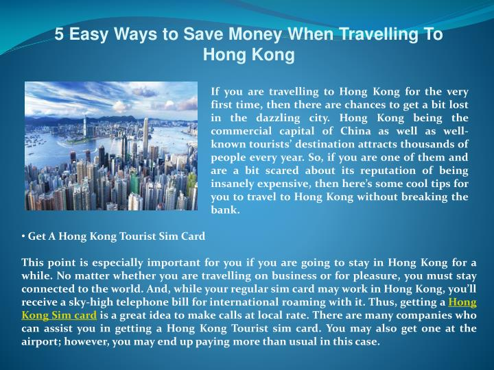 5 easy ways to save money when travelling to hong kong