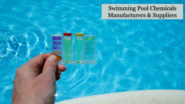 Swimming Pool Chemicals Manufacturers &