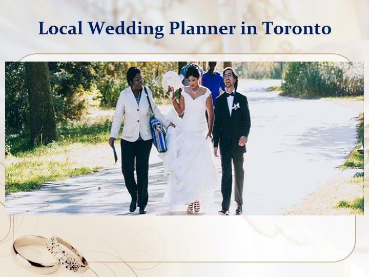 Local Wedding Planner in Toronto