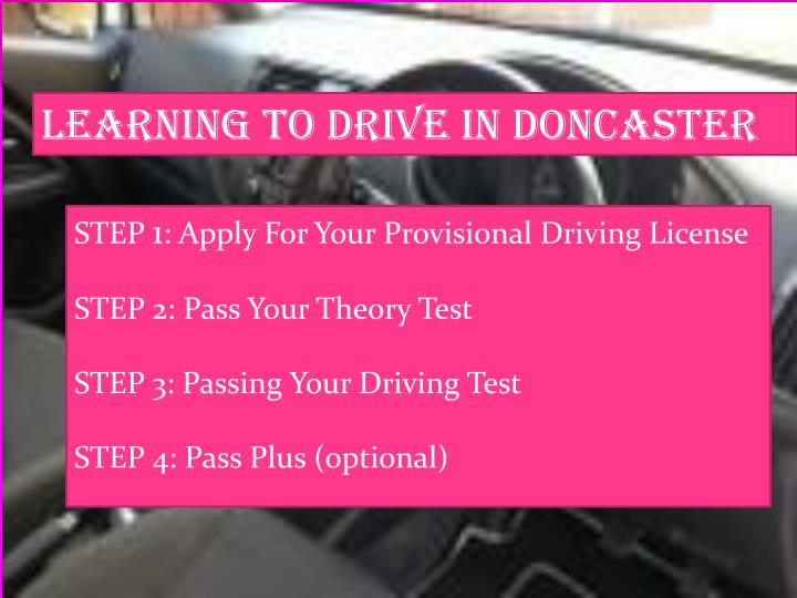 Learning to Drive in Doncaster