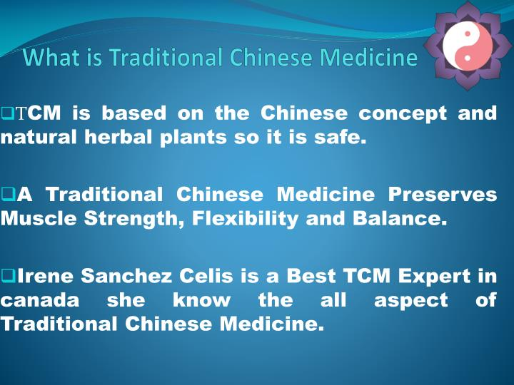 What is traditional chinese medicine