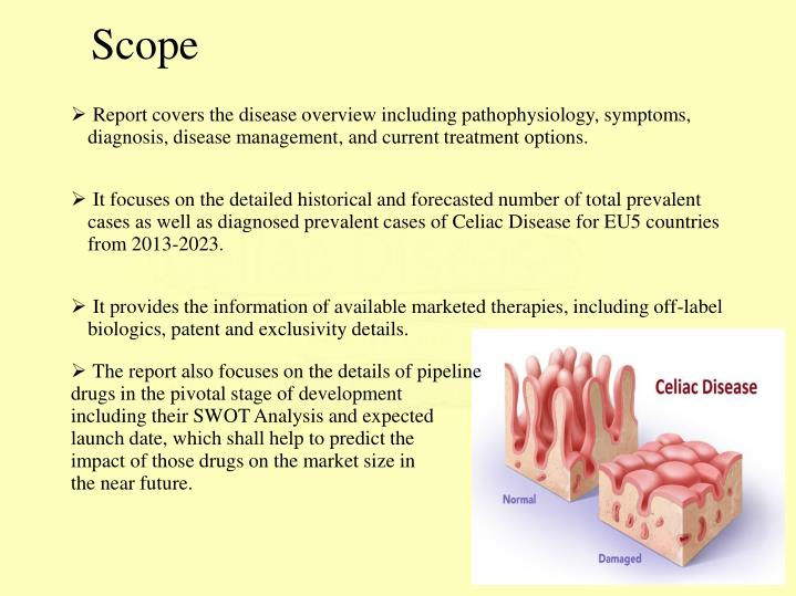 Report covers the disease overview including pathophysiology, symptoms, diagnosis, disease management, and current treatment options.