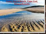 coast guard beach cape cod massachusetts