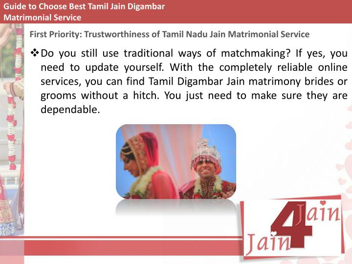 Guide to choose best tamil jain digambar matrimonial service1