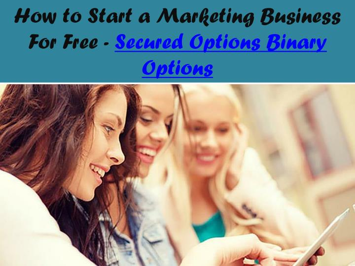 How to Start a Marketing Business For Free -