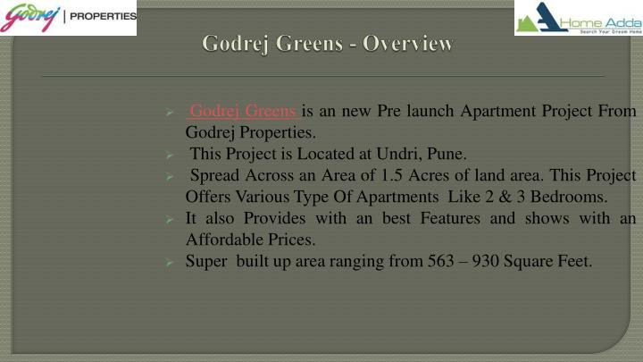 Godrej greens overview