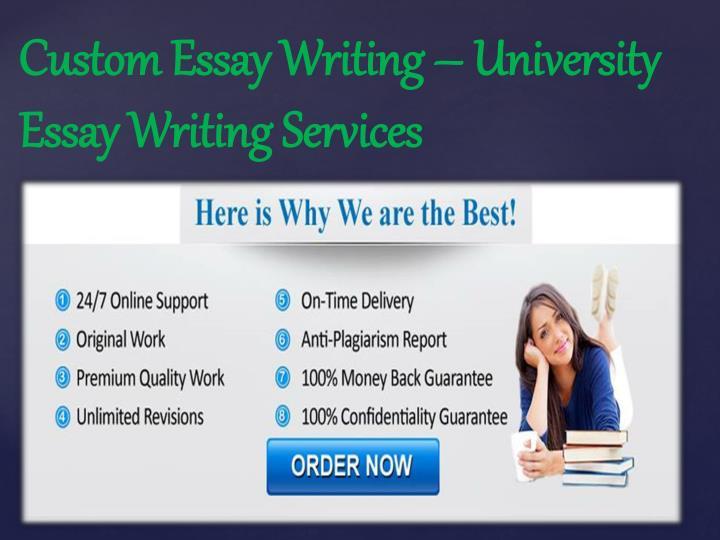 Custom Essay Writing – University Essay Writing Services