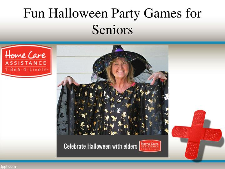 Fun Halloween Party Games for Seniors