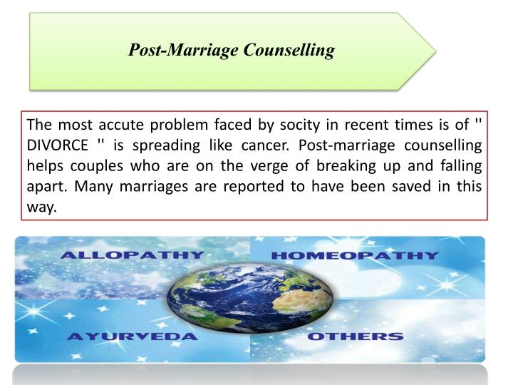 Post-Marriage Counselling