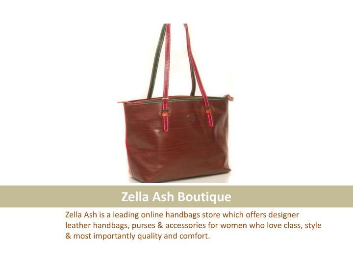 Zella ash boutique