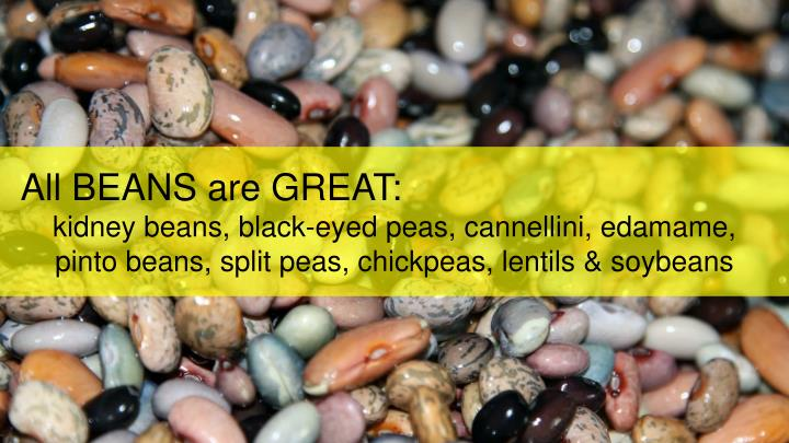 All BEANS are GREAT: