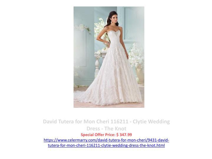 David Tutera for Mon Cheri 116211 - Clytie Wedding Dress - The Knot